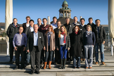 Group photo of all participants of the 4th project meeting
